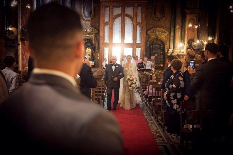 wedding at St. Paul's shipwreck Valletta