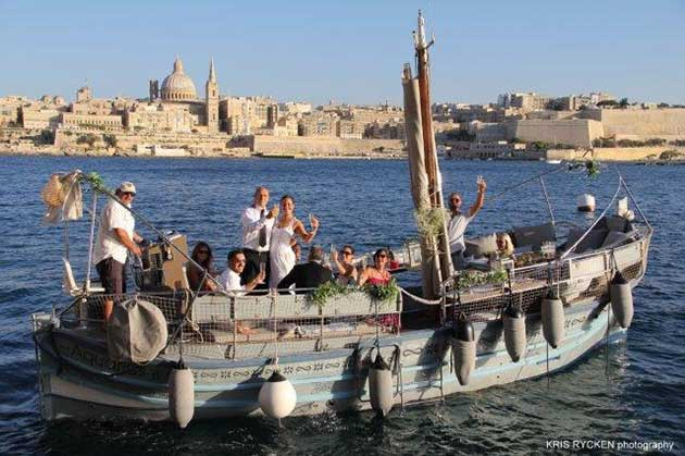 Boat Wedding Malta
