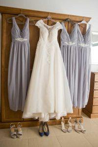 Bridal and Bridesmaids Dress