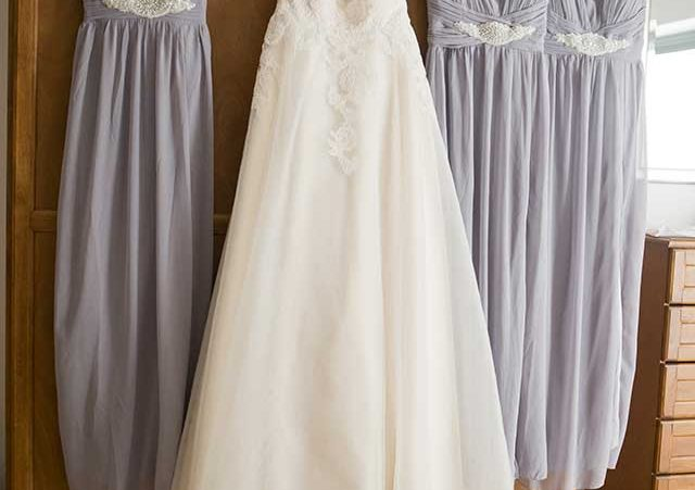 Bridal and Bridesmaids Dress