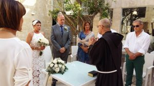 Marriage blessing in Malta