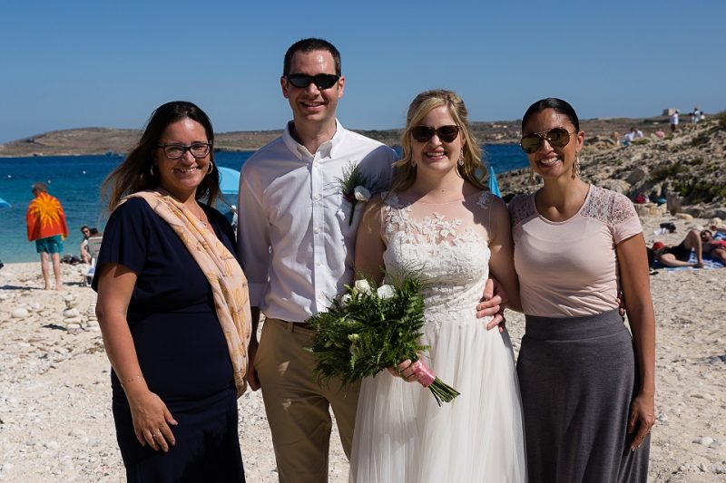 Symbolic ceremony on the beach