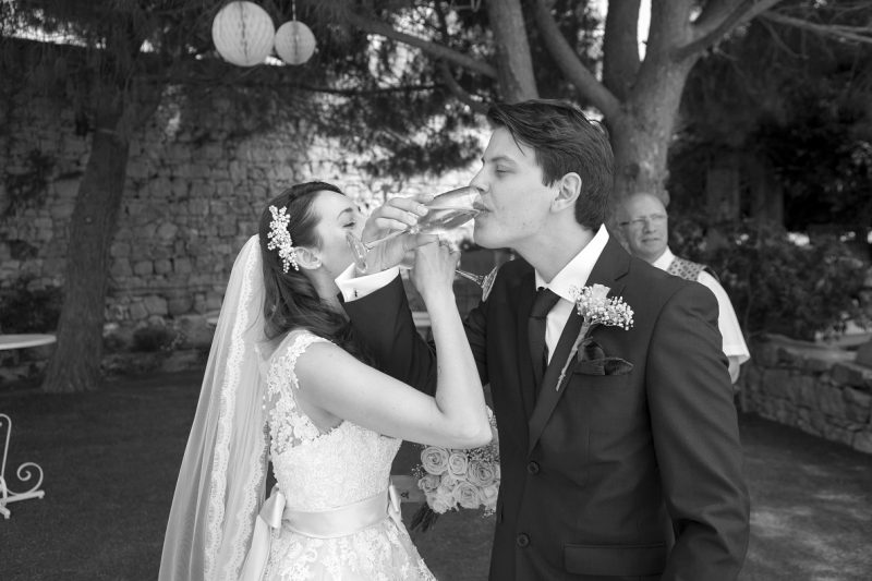 Garden wedding in Malta