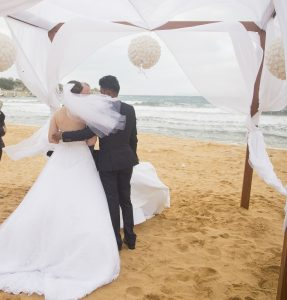 Beach wedding blessing