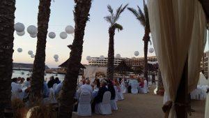 Hola beach wedding