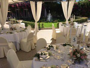 Palazzo Garden wedding in Malta