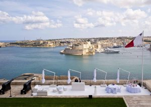 Saluting Battery wedding - by Wed in Malta