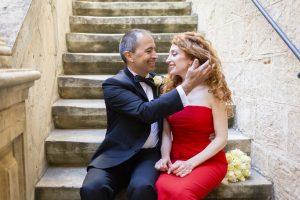 Intimate wedding in Mdina