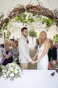 Wedding at the Lower Barakka Gardens Valletta