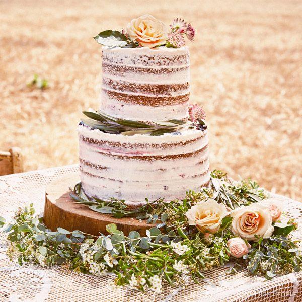 30 wunderschöne Naked Cake-Ideen für die Hochzeit