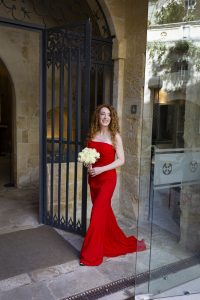 Bride in red - Wedding by Wed in Malta