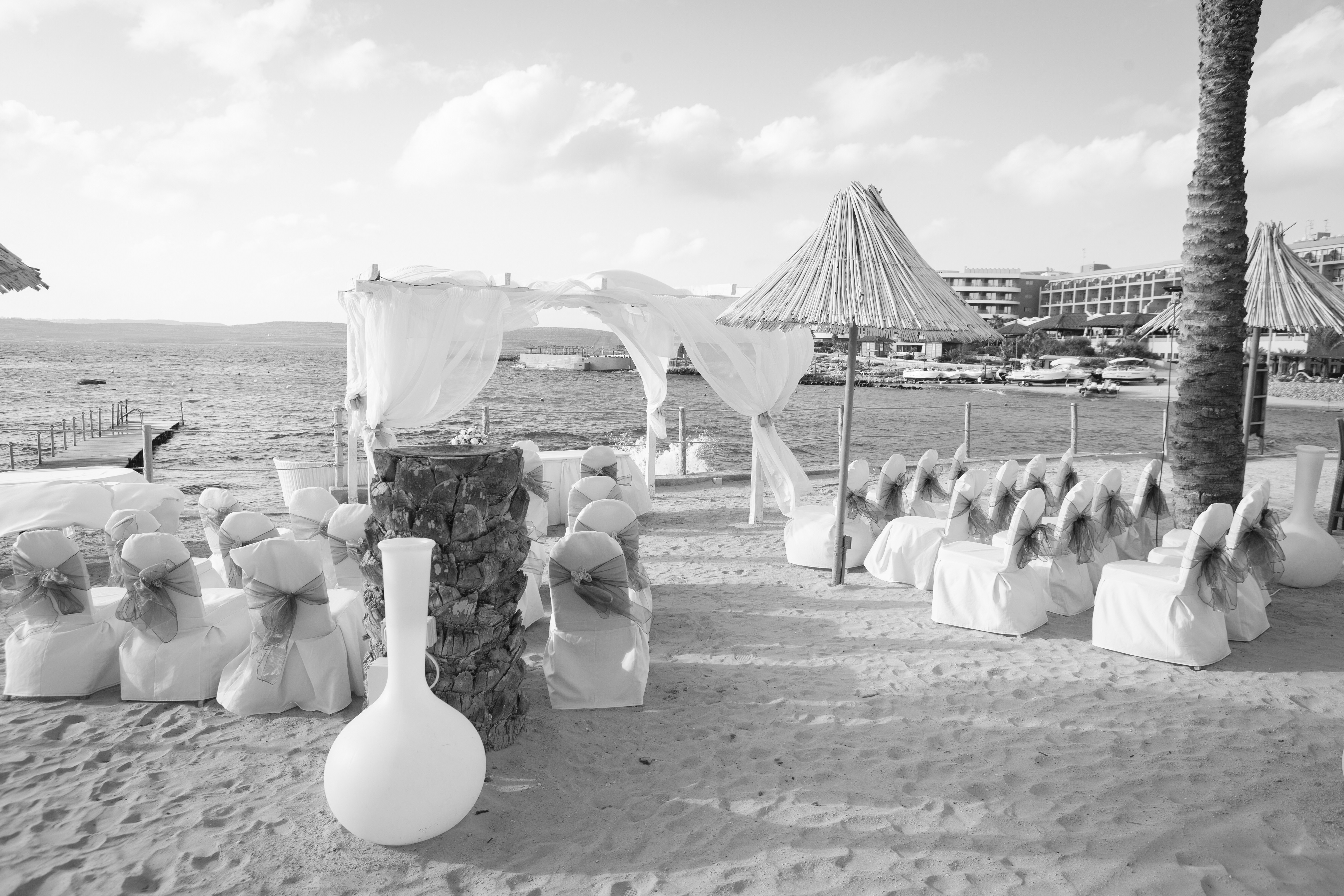 On the sand - A Wed in Malta wedding