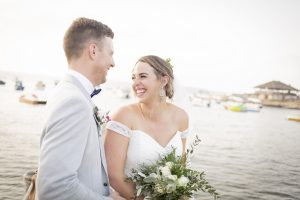 Wedding on the waters edge in Malta