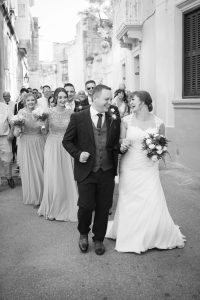 Jenny and John's wedding in Malta