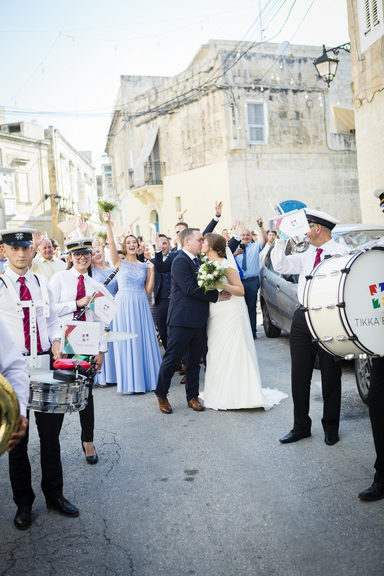 Wedding musical procession