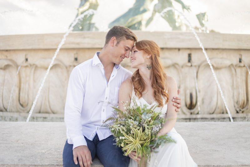 American wedding in Malta
