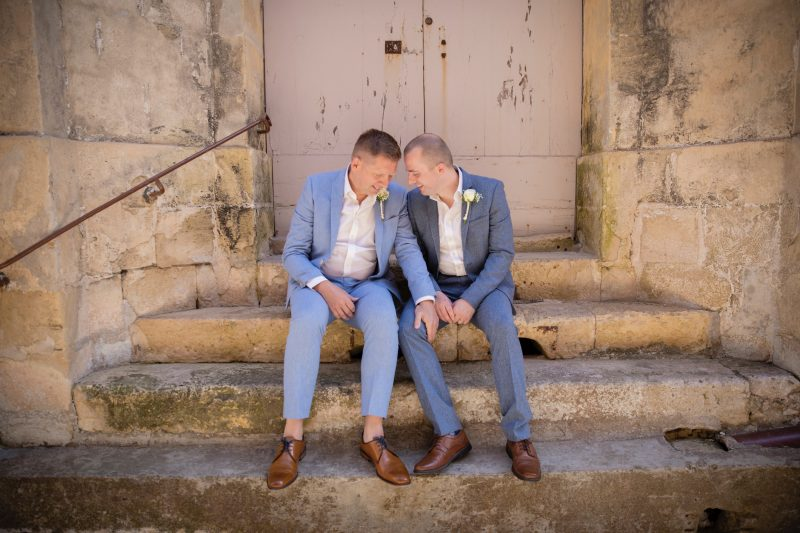 Gay wedding in Mdina