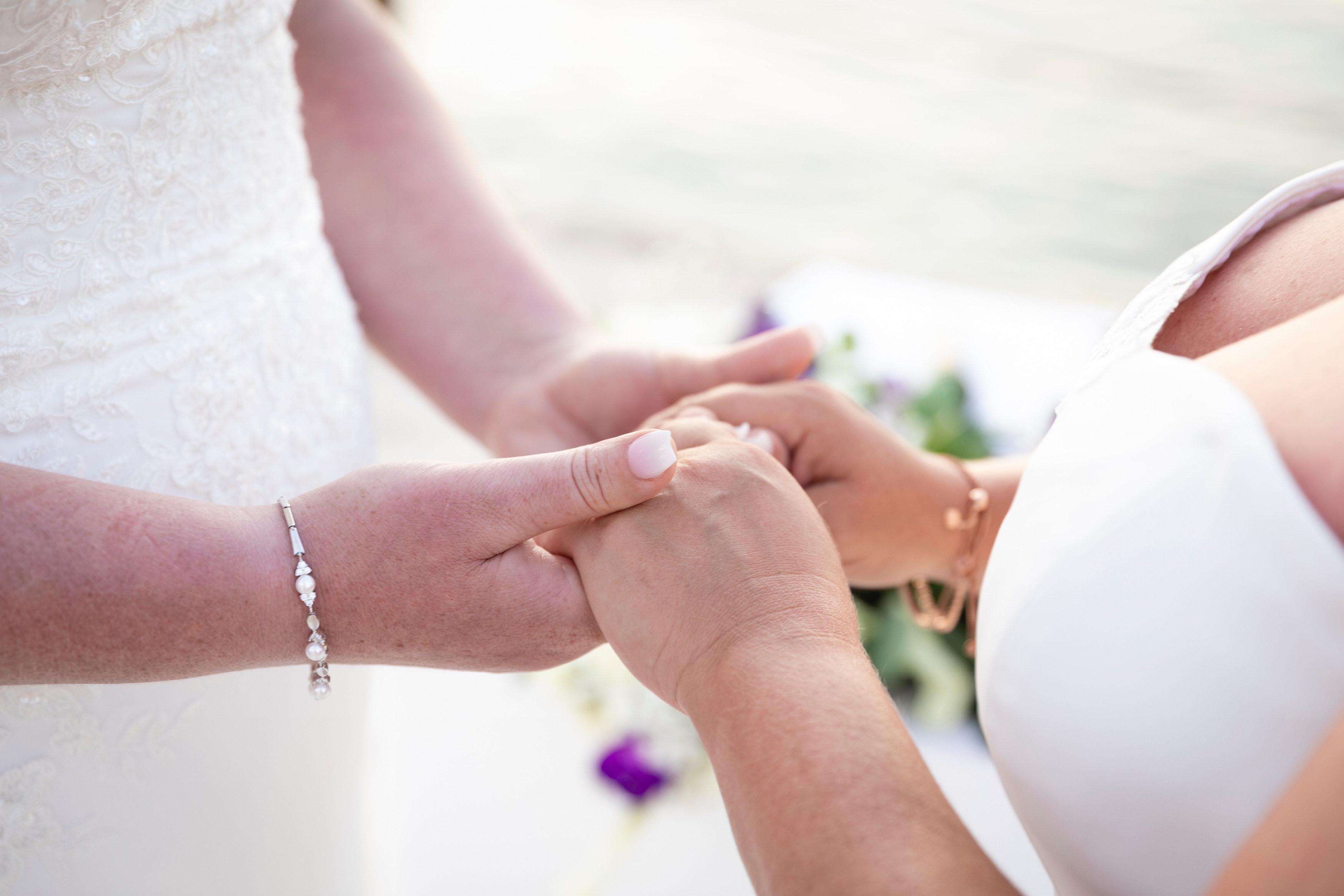 Lesbian wedding in Malta