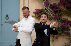 Gay couple gets married in Malta