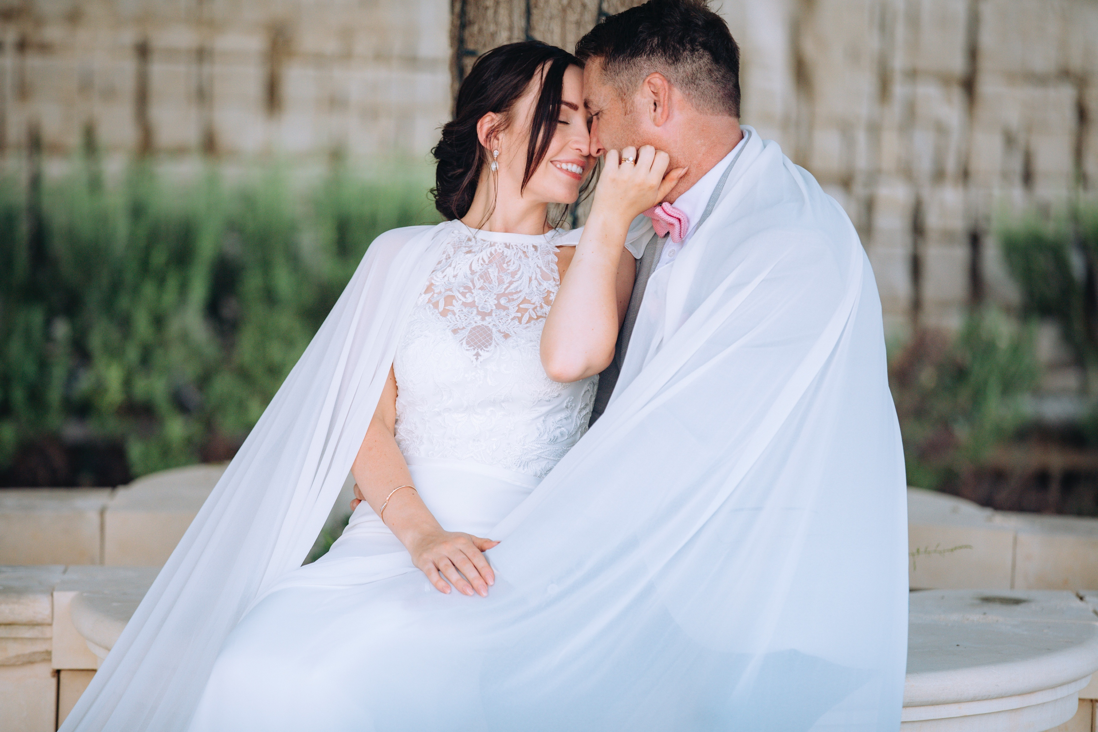 Romantic wedding at Limestone Heritage