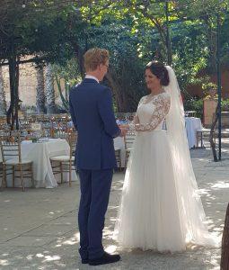 UK wedding in Malta