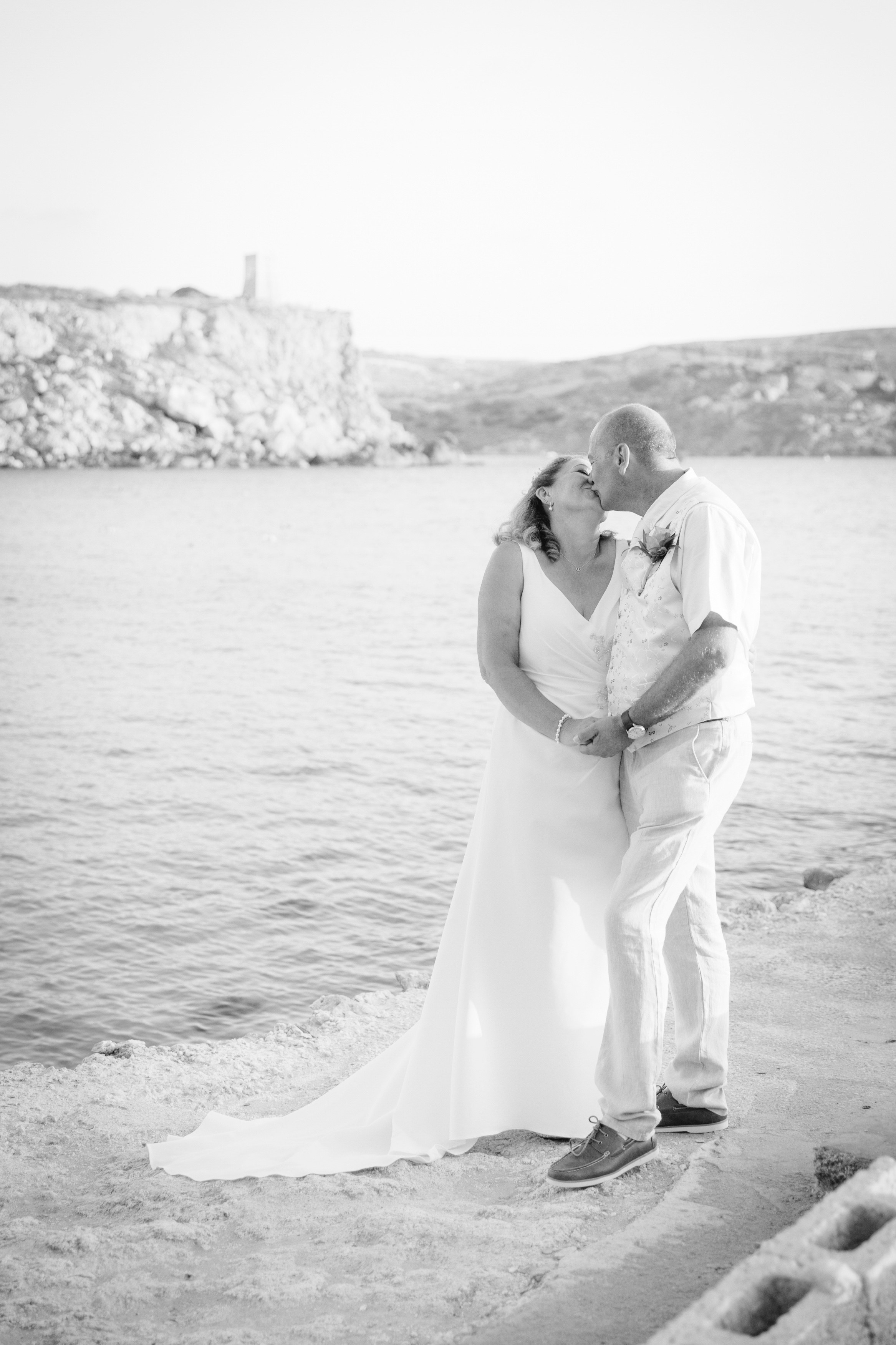 Beach wedding in Malta