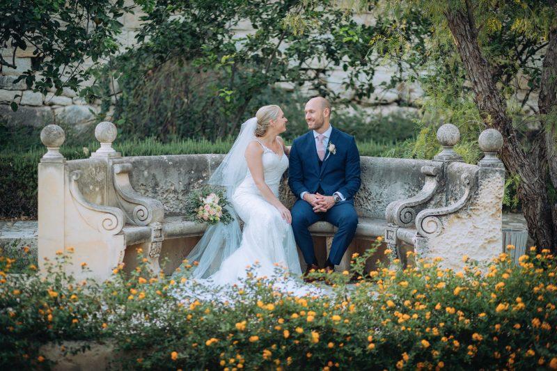 Romantic wedding in Malta
