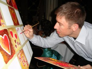Painter at your wedding