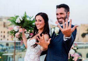 Liana and Julian wedding at the Sheer Bastion